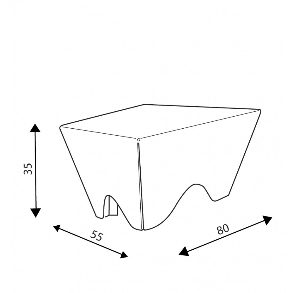 Table CUB trapèze