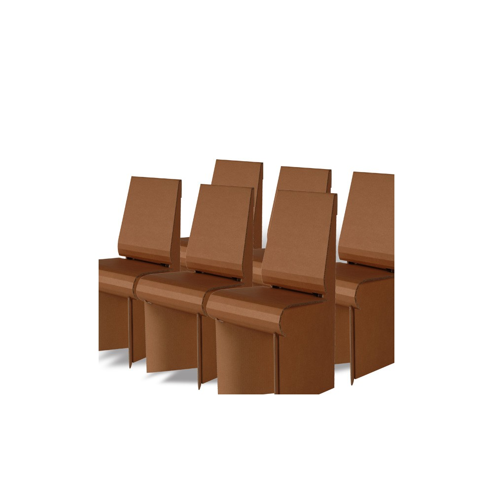 Pack IXI 6 chaises