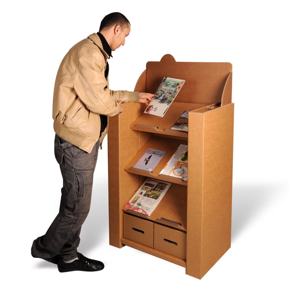 Présentoir magazines