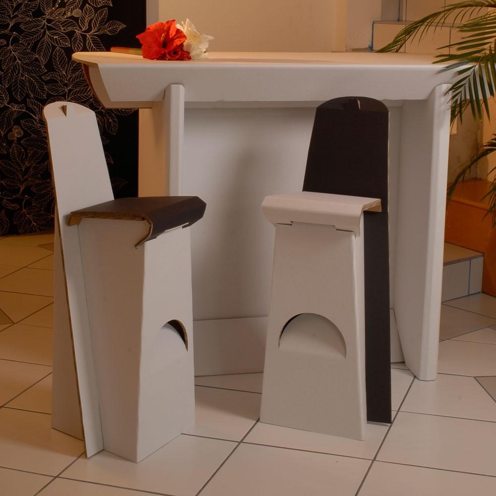 Table haute IXI 150x78x110