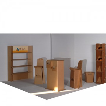 Pack stand 9 m2